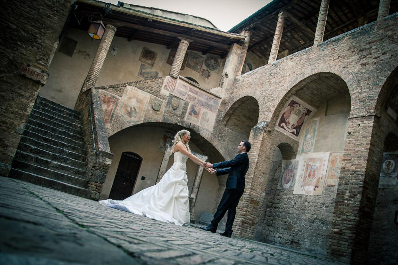 foto 7 Wedding Photography in Tuscany - San Gimignano with Giacomo and Irene