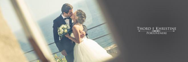Wedding in Portovenere - Tord and Christine
