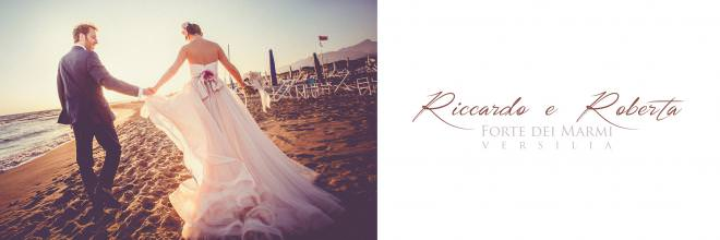 Wedding on the beach of Forte dei Marmi