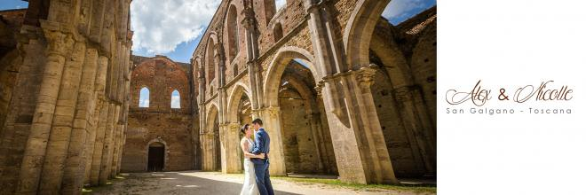Alex and Nicolle - Wedding in San Galgano Abbey
