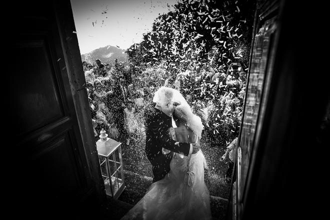 wedding photo in Italy