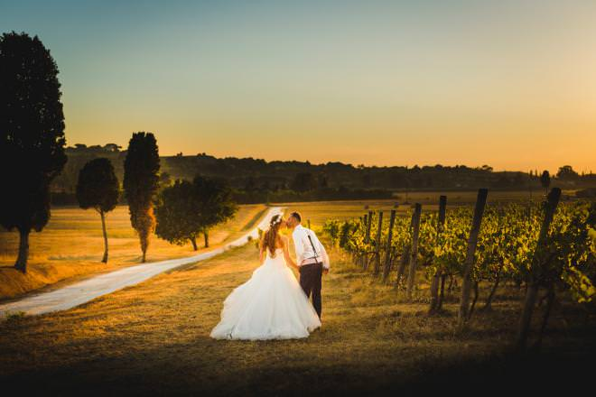 wedding photo in Florence